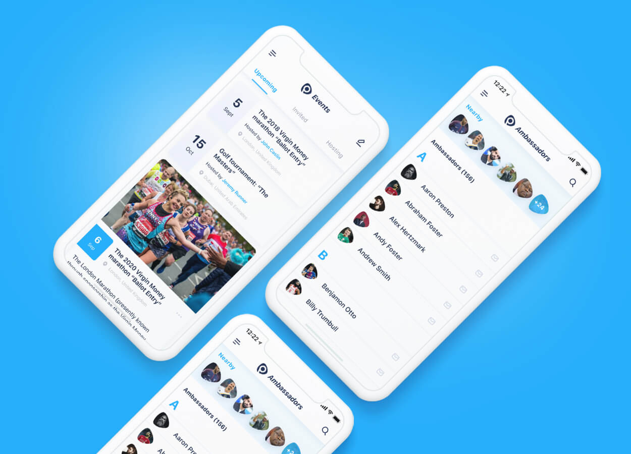 PlayonPro: Social Networking App of Former Sports Stars