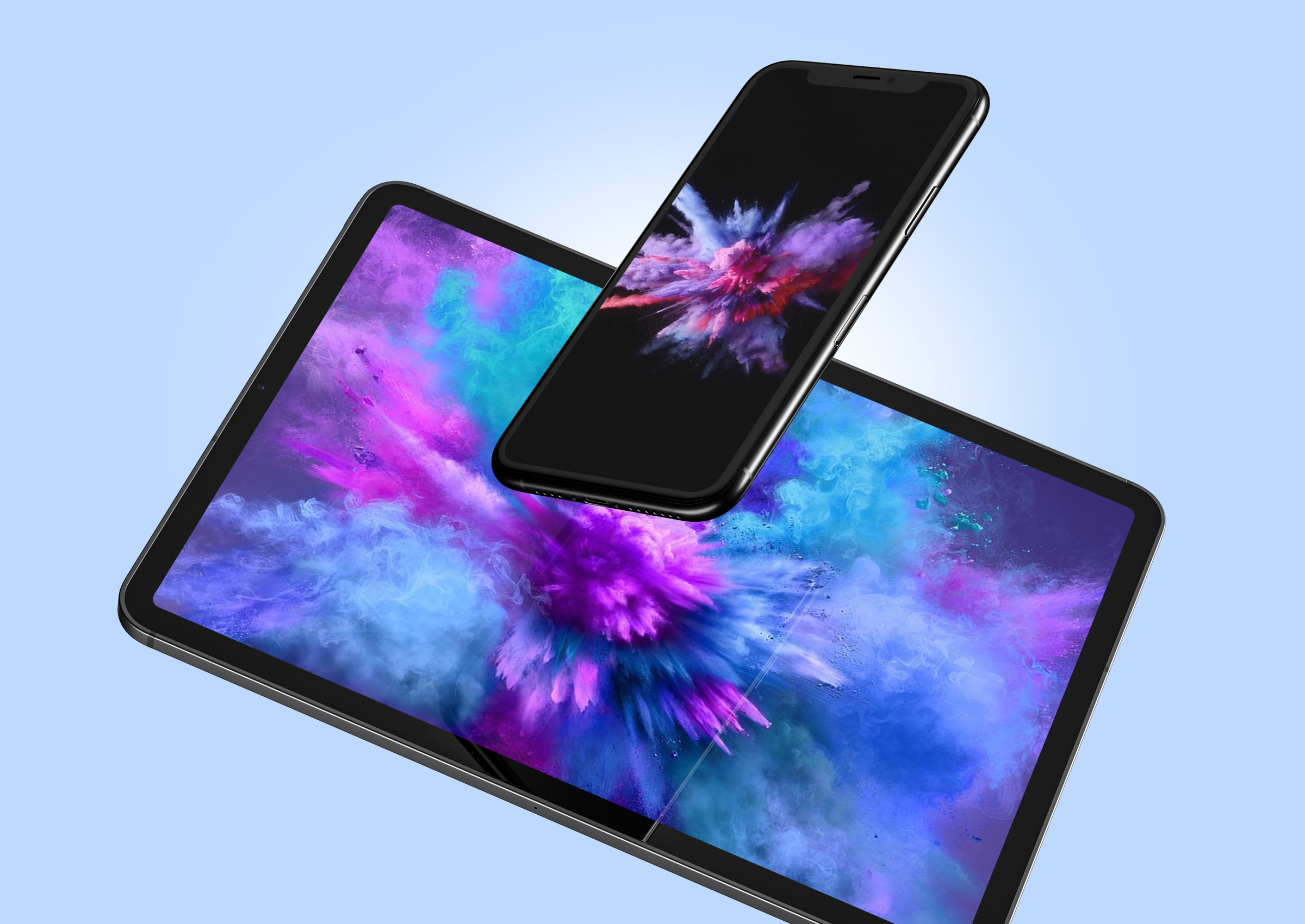 The Superscreen Tablet that Mirrors Personal Smartphone