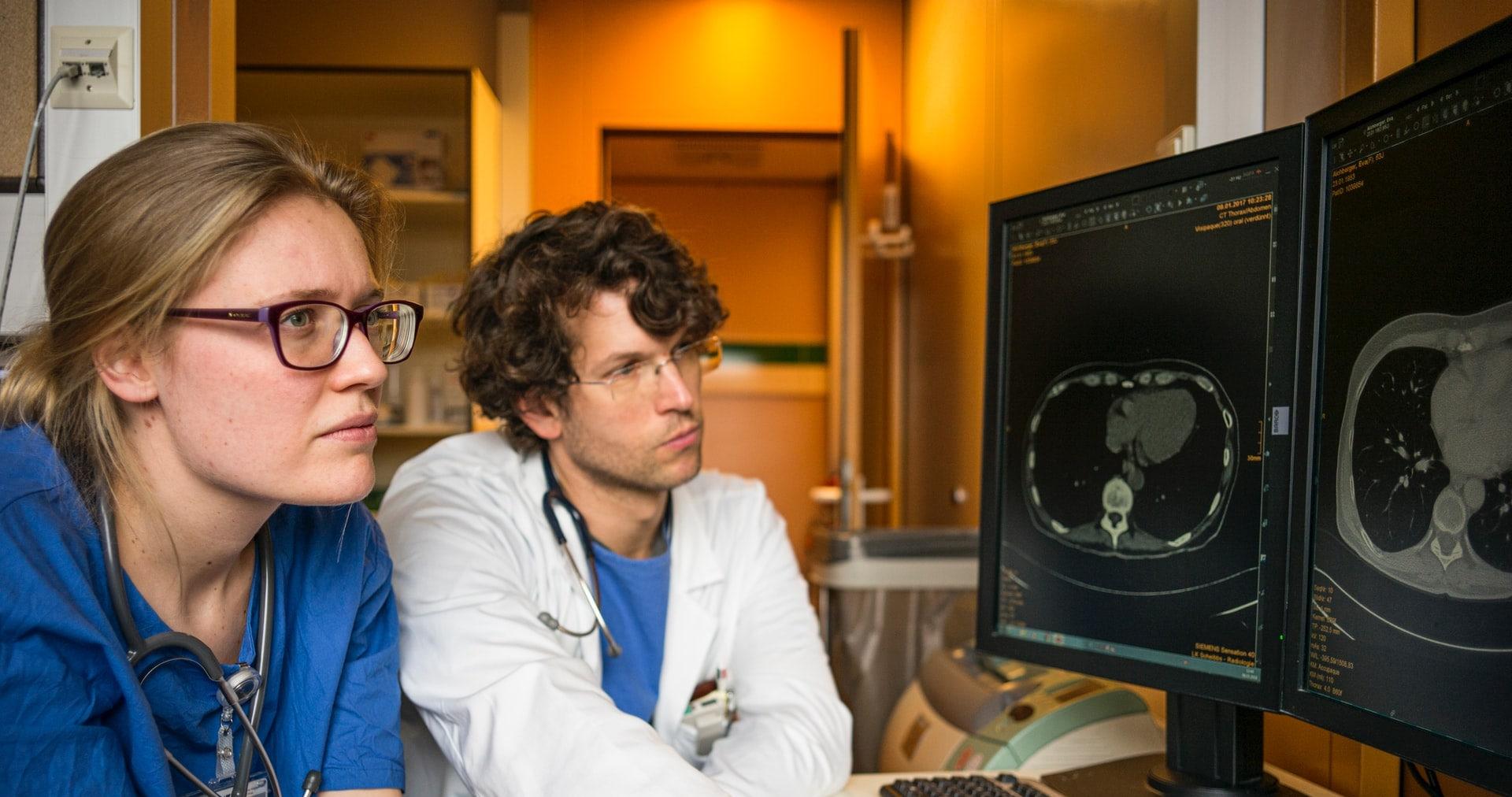 ML algorithms in radiology